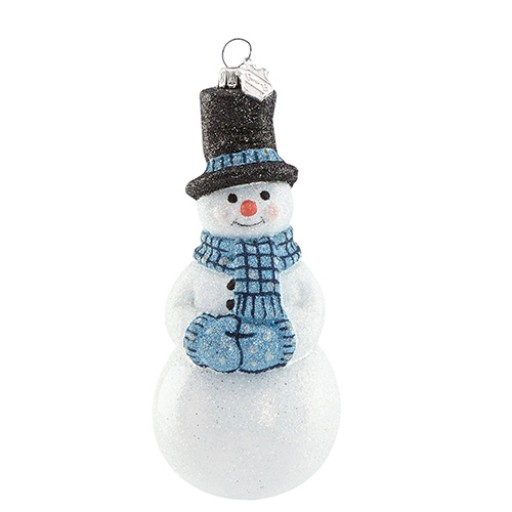 Holiday - The Snowman Ornament from Reed & Barton is meticulously handmade in Europe. This fine glass treasure will add a bright, colorful touch to your tree or wrap it up and give as a special gift to the collector.
