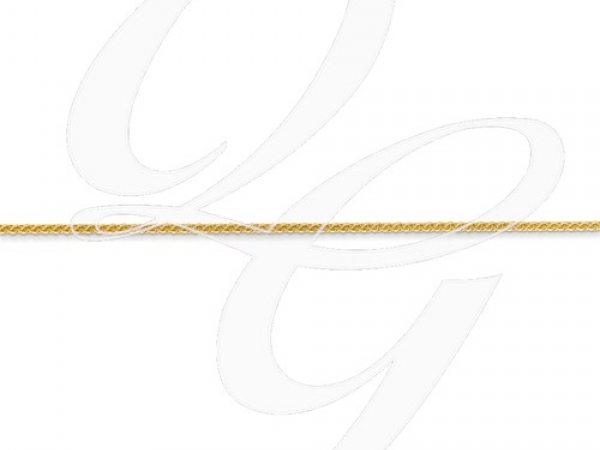 Fine Jewelry - Yellow 14 Karat 1mm Wheat Chain Length 20. - image 2
