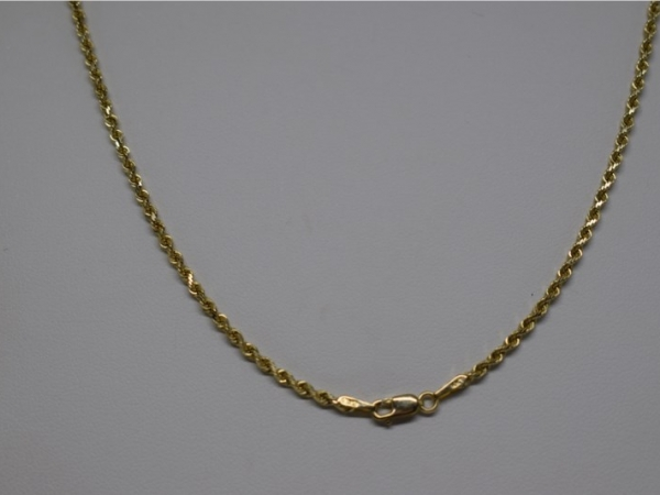 Gold Necklace - Chain - image 2