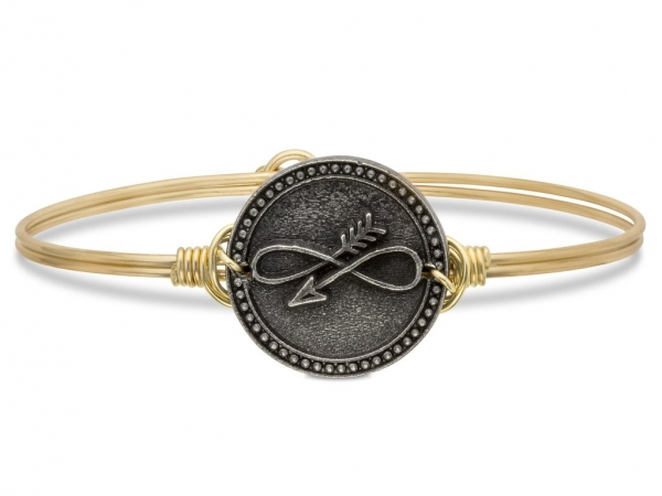 "Bracelets - LUCA+DANNI STC464 ""Embrace the Journey"" Bangle"