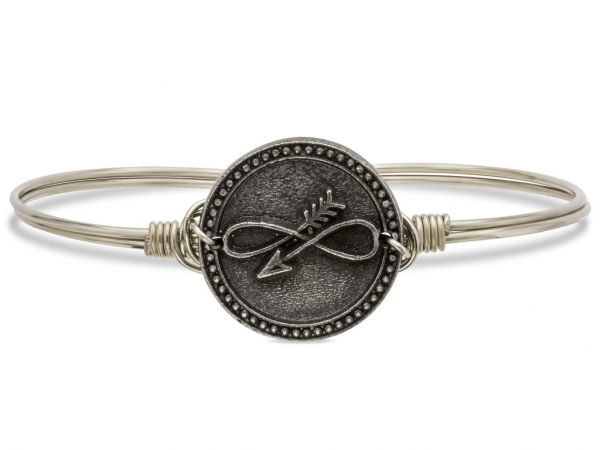 "Bracelets - LUCA+DANNI STC464S ""Embrace the Journey"" Bangle"