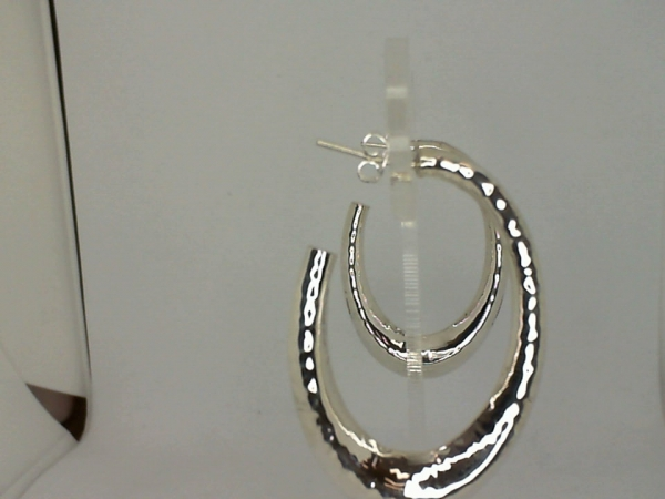 Silver Earrings - Earring - image #2