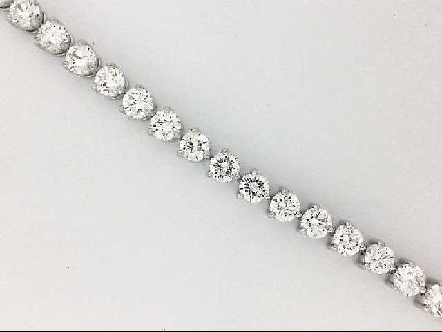 Bracelet - White 14K Tennis Bracelet With 4.05Ct Forevermark Diamonds And 7.45Ct Tw Round Diamonds