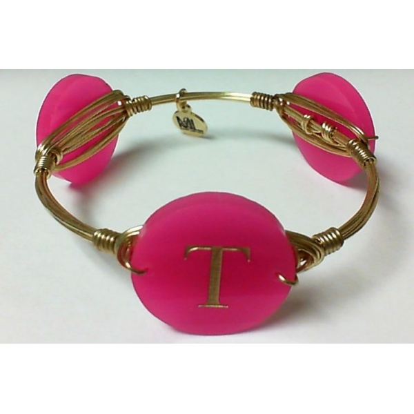 Bracelet - Hot Pink Gold Finished
