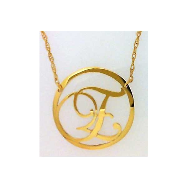 Necklace - Yellow Gold Filled Extra Small Beso Necklace Necklace Notes: E