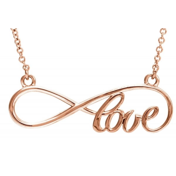 Pendant - Rose Gold 14K