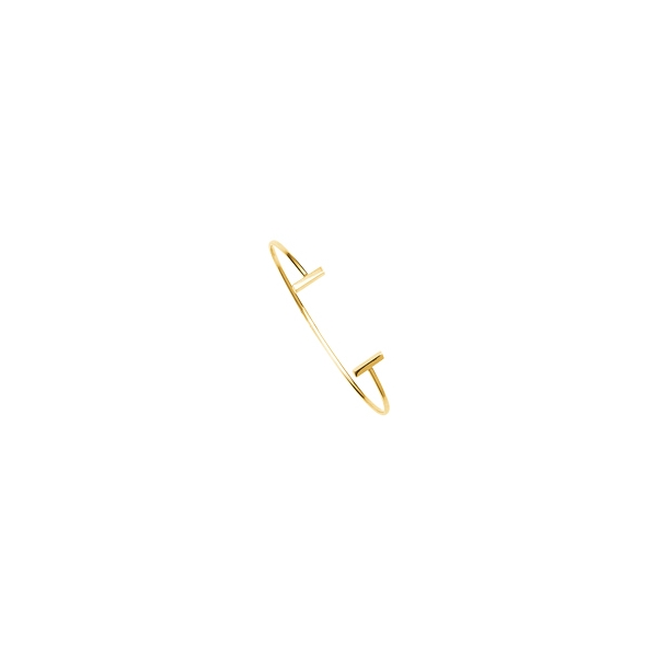 Bracelet - Yellow 14K Bar Cuff Bracelet