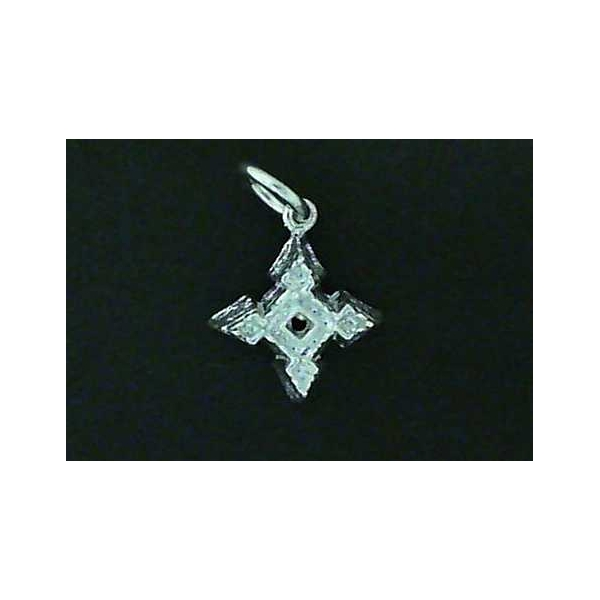 Charm - Sterling Silver Small Fort Charm