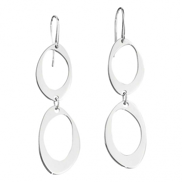 Earrings - Rhodium Finished Sterling Silver