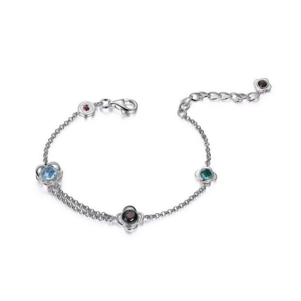 Bracelet - Sterling Silver Rhodium Finished