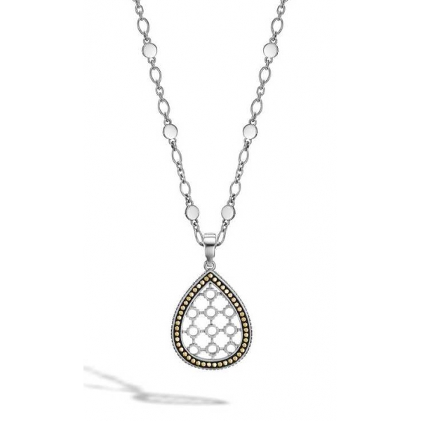 Pendant - Sterling Silver Dot Drop Pendant Notes: w/ Chain