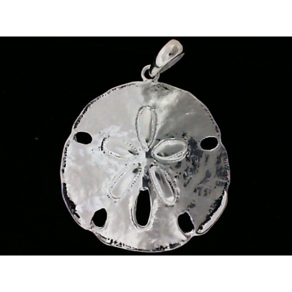 Pendant - Sterling Silver Sand Dollar Pendant Notes: Medium