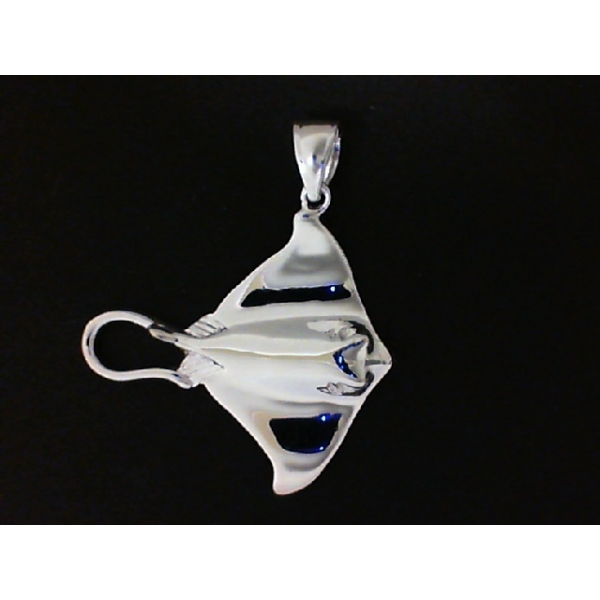 Pendant - Sterling Silver Stingray Pendant