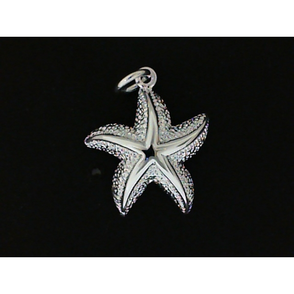 Pendant - Sterling Silver Starfish Pendant