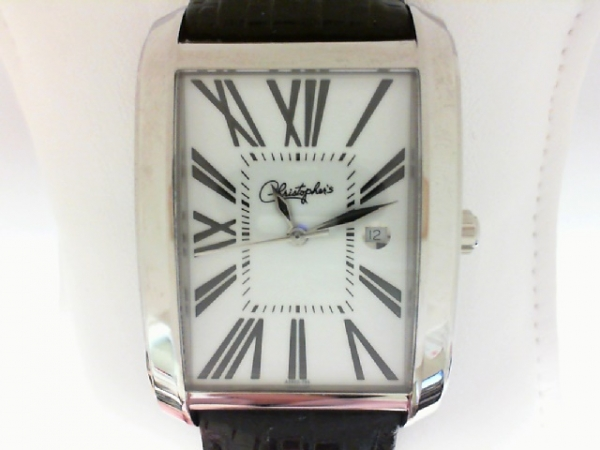 Belair Swiss Wrist Watch - Gentlemen's stainless steel