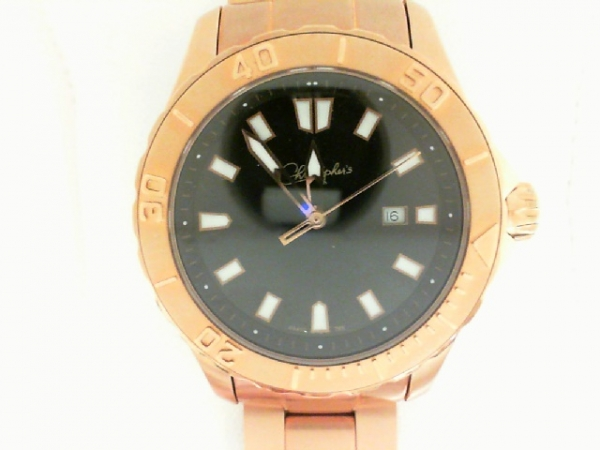 Belair Swiss Wrist Watch - Gentlemen's stainless steel rose gold finished