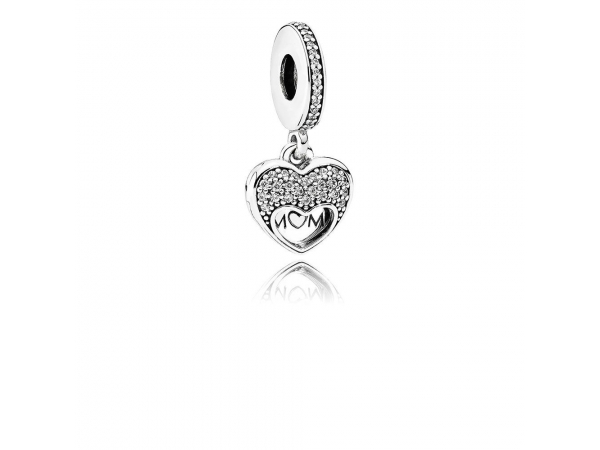 Fine Jewelry - I Love My Mom Heart Locket - image #3