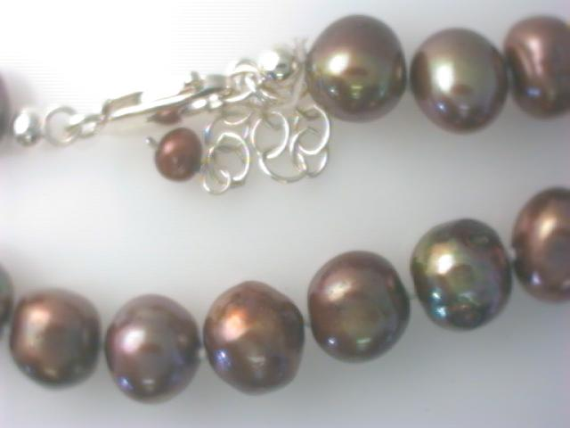 Strand - Lady's Sterling Silver Strand With 45= Fresh Water Pearls