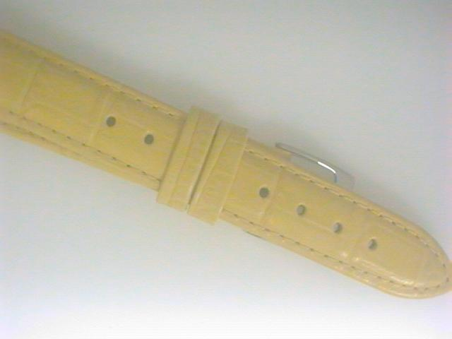 Watches - Lemon Watch Strap White Buckle