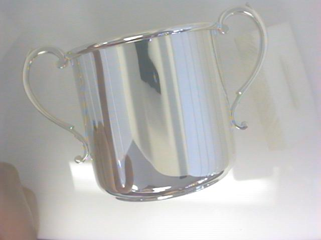 Fine Jewelry - Sterling Silver two handle baby cup