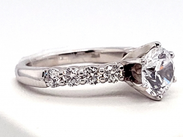 Diamond Engagement Rings - Engagement Ring - image 3