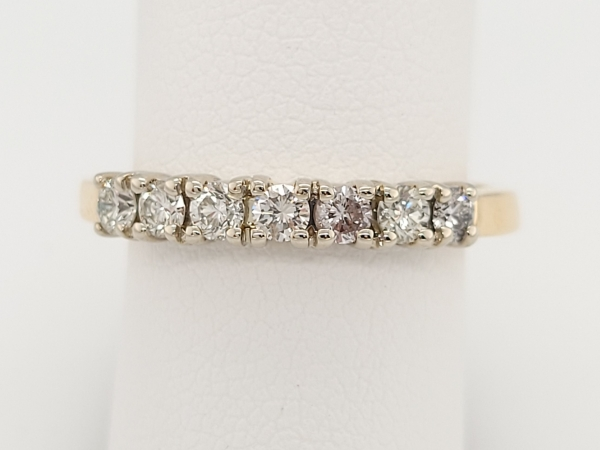 Women's Diamond Wedding Bands - Wedding Band - image #2