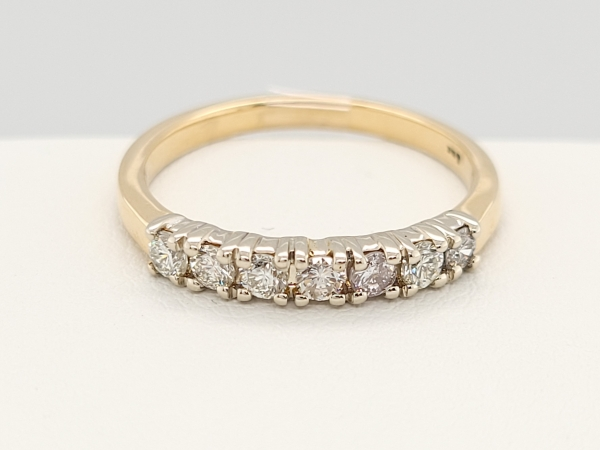 Women's Diamond Wedding Bands - Wedding Band - image 3