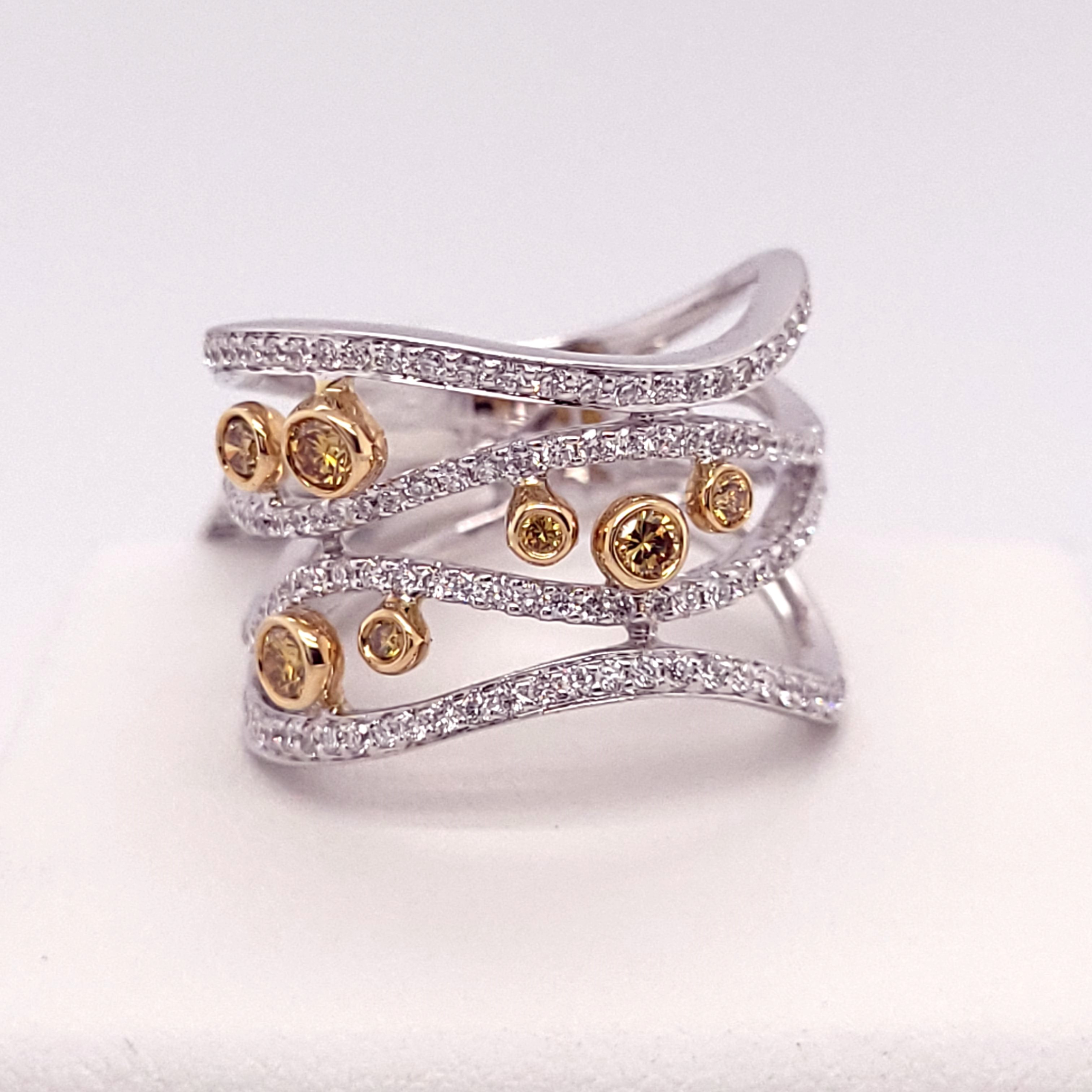 Women's Diamond Fashion Rings - 001-130-00013 - image #2