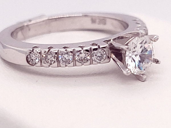 Diamond Semi-mount Rings - Ring - image 3