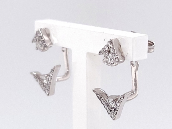 Diamond Earrings - Earrings - image 2