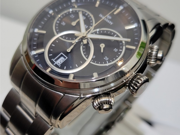 Dolabany Men's Watches - Mens Stainless Steel and Swiss Chronograph watch Style# A9829 - image #2