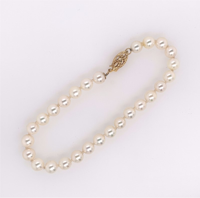 Pearl Bracelet, Wedding Jewelry