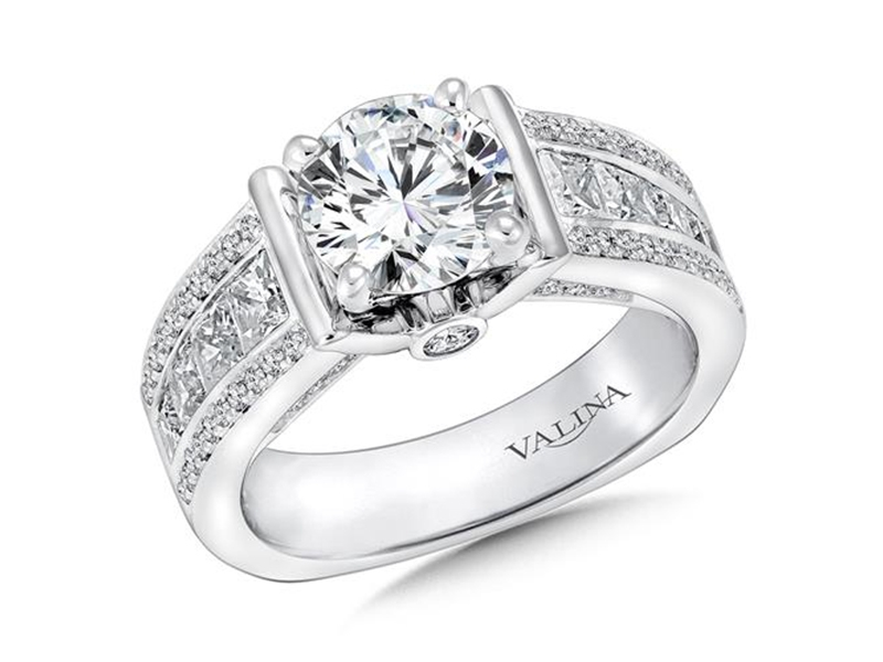 Engagement Ring RQ9446W Rings from Edwards Jewelers Modesto CA