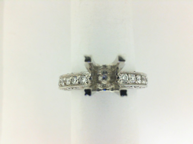 Engagement Ring - TACORI HT 2229A-40X Platinum Engagement Ring with ..40ct tw Clarity Grade: VS2, Color: G-H Diamonds , Size 6.5 (will fit 1.0ct Round, Princess or Cushion Cut center Diamond, center Diamond not included in price but we have plenty for you to choose from) Limited availability, only one at this price. (we're not affiliated with Tacori but are selling genuine Tacori Rings at tremendously reduced prices) Certificate of Authenticity included
