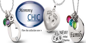 Celebrate your family with personalized stacking pendants in sterling silver.
