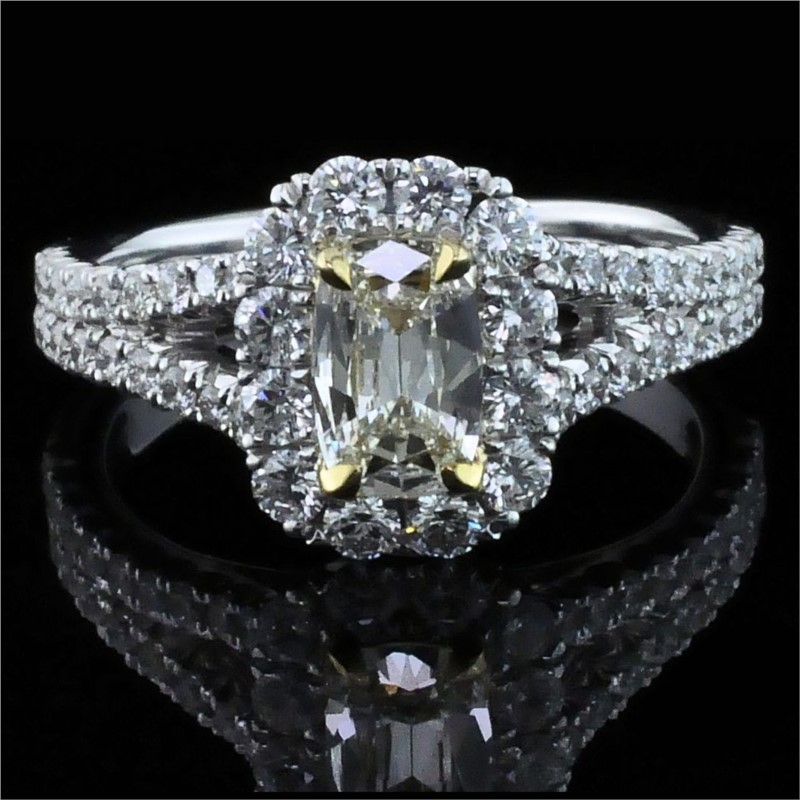 Diamond Engagement Rings - Henry Daussi Diamond Engagement Ring