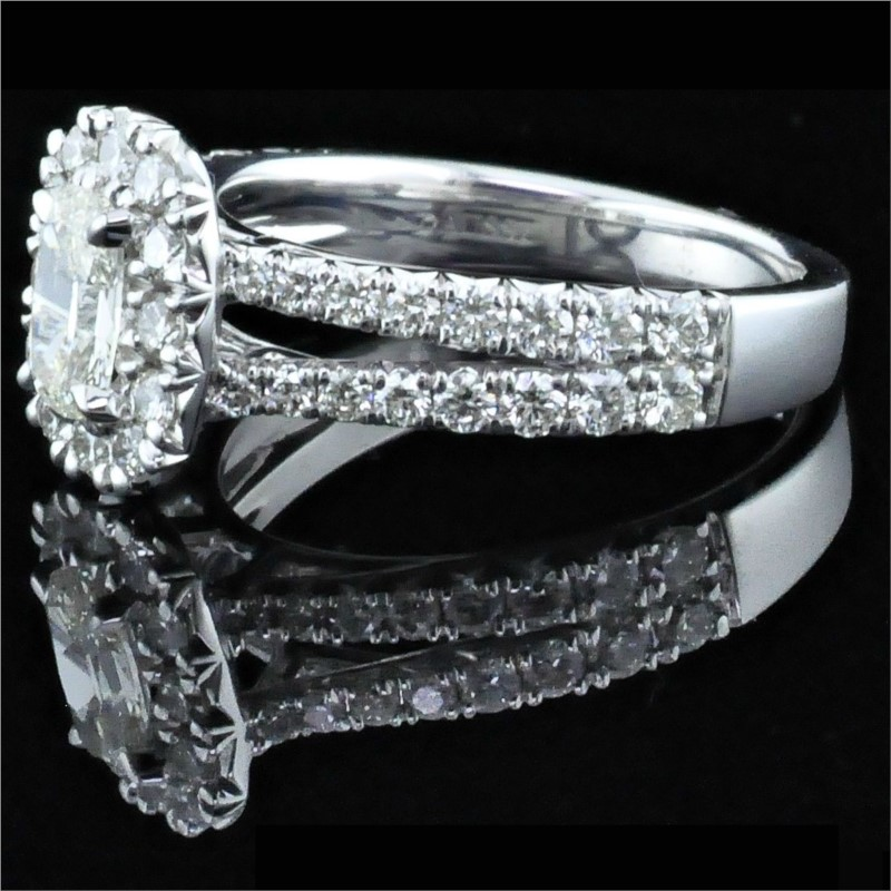 Diamond Engagement Rings - Henry Daussi Diamond Engagement Ring - image #2
