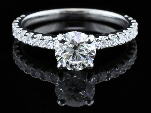 Fine Jewelry - Hearts and Arrows Cut Diamond Engagement Ring