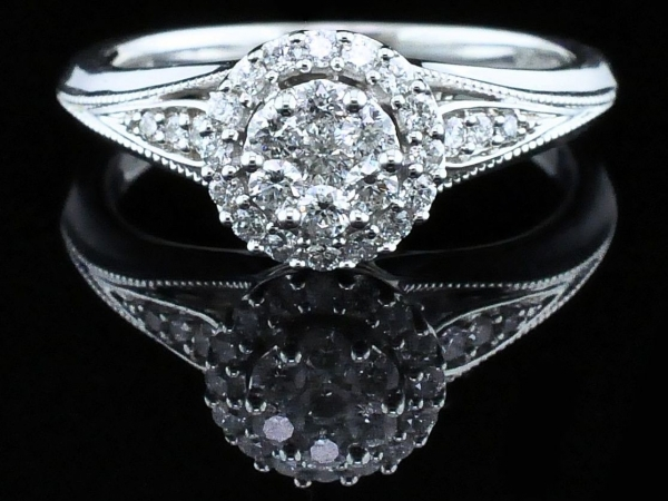 Fine Jewelry - Diamond Wedding Set - image 4