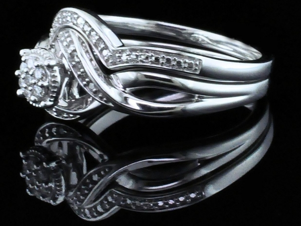 Fine Jewelry - Diamond Wedding Set - image #2