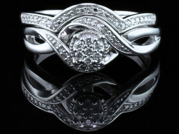 Fine Jewelry - Diamond Wedding Set