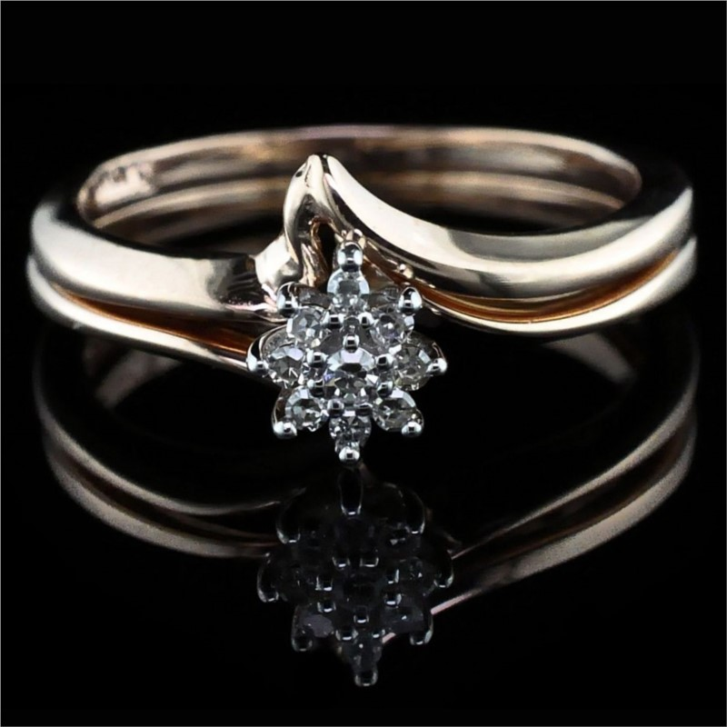 Diamond Engagement Rings - Diamond Wedding Set