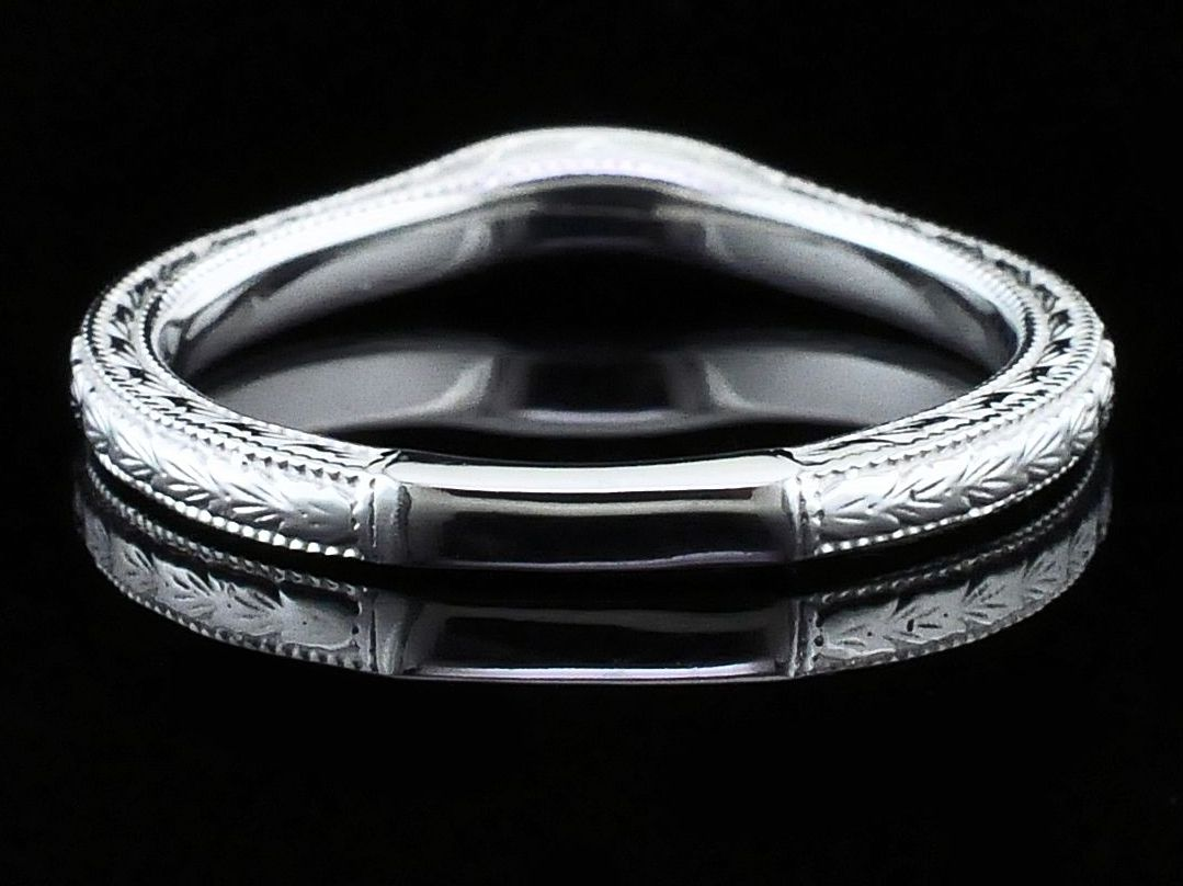 Women's Diamond Wedding Bands - Diamond Wedding Band - image #2