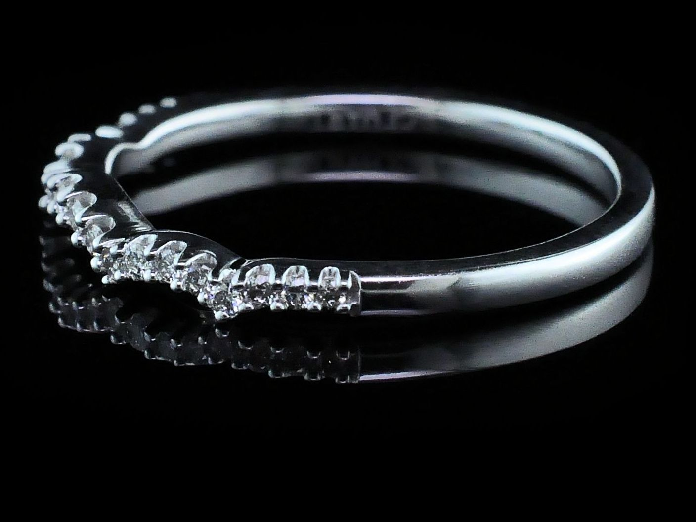 Women's Diamond Wedding Bands - Diamond Wedding Band - Women's - image #2