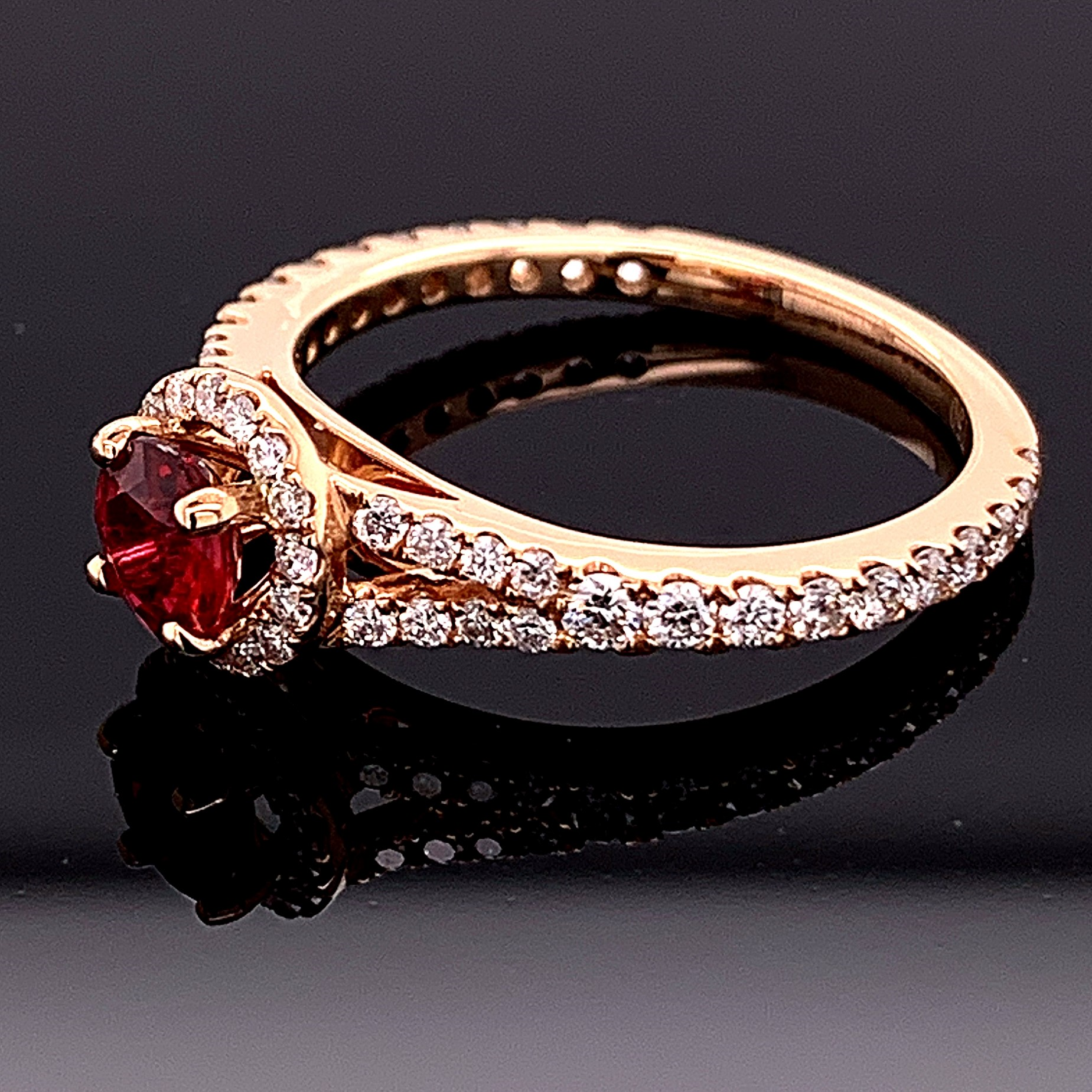 Women's Colored Stone Rings - Women's Gemstone Ring - image #2