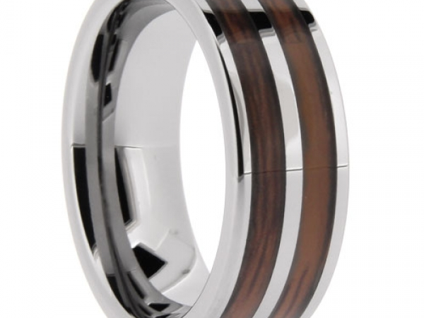 Tungsten Carbide Wedding Band - Tungsten Wedding Bands - image 2