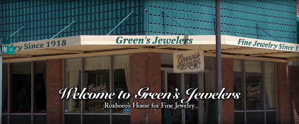 Green's Jewelers - Custom homepage banner