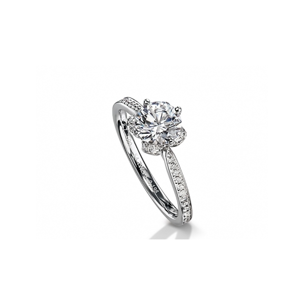 Fine Jewelry - Floral Engagement Ring