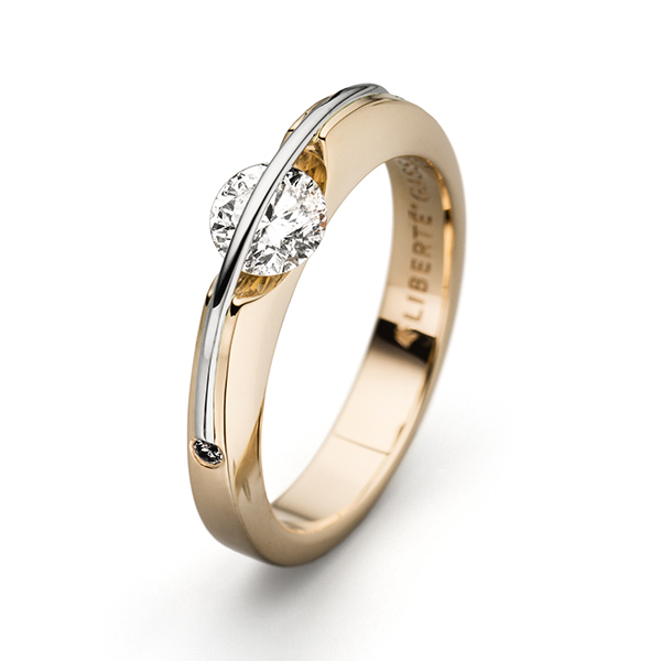 Engagement - Liberté Diamond Ring - image #2