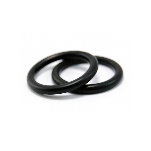 Ring Guards - Designer: Michael WeggenmanStyle: Round Balance Guard Rings (set of two)Metal: black steel, 2.5mm wideFinge Size: 50 metric, 5.25 US*worn, show visible wear*